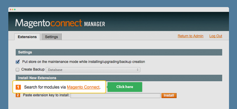 install plugin magento extension
