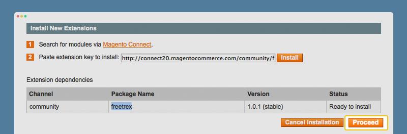 install plugin magento status