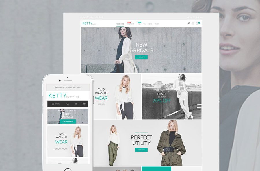 KettyFashion - Magento eCommerce Themes