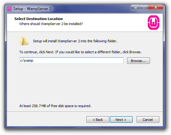 how to install magento on wamp