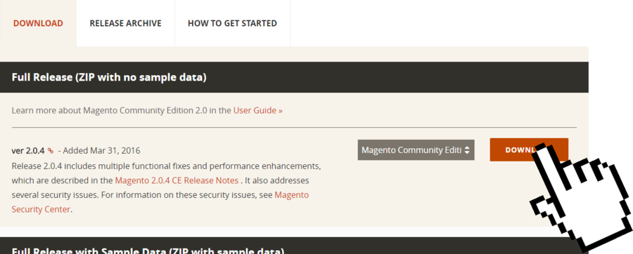 Magento Windows Server