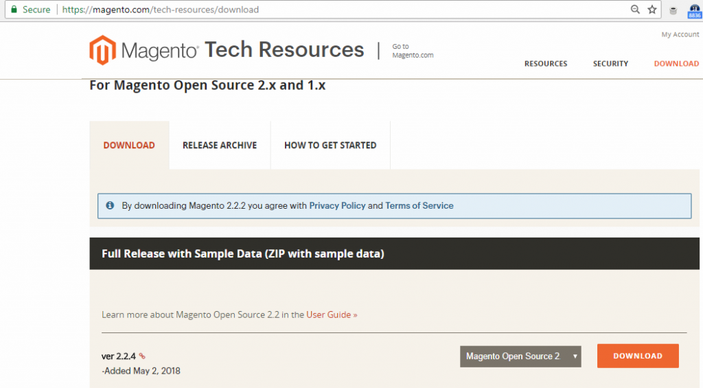 magento download free version