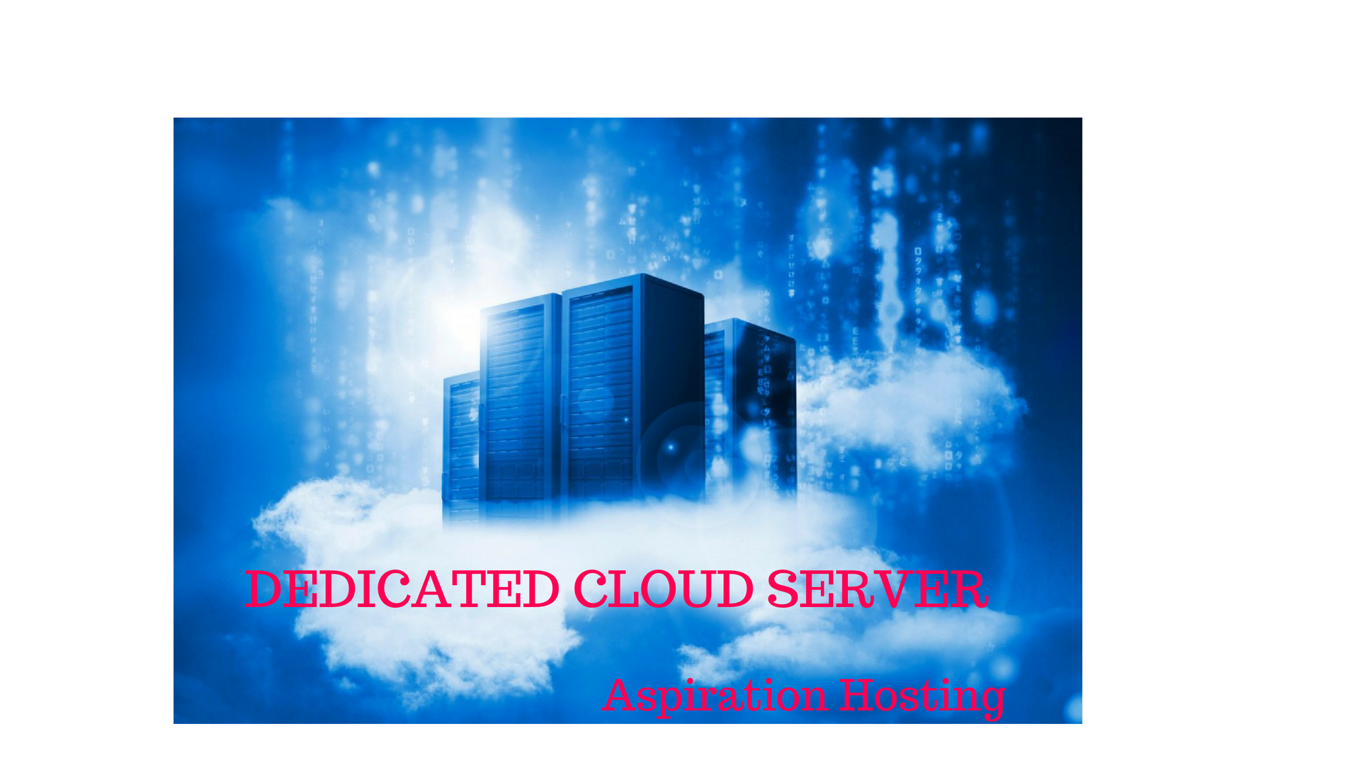 dedicated cloud server