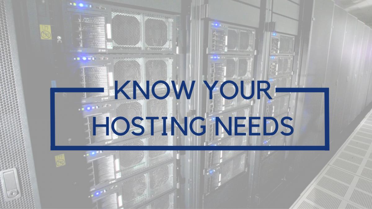 hosting needs