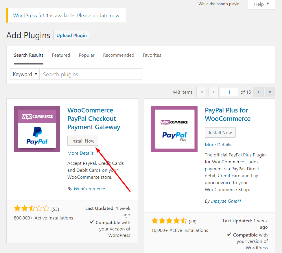woocommere paypal