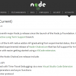 Node V 10 - The latest node.js upgrades and features