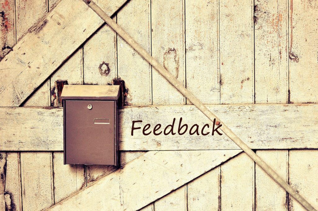Getting feedback via reviews and testimonials is a great way to understand your strengths and work on your faults.